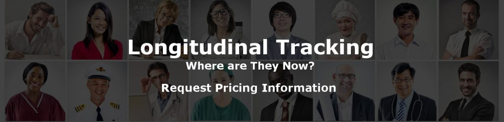 Longitudinal Tracking - Where are they now?